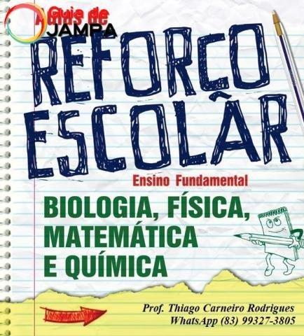 Professor de Reforço Escolar no Bessa em João Pessoa - Thiago Carneiro Rodrigues (83) 99327-3805