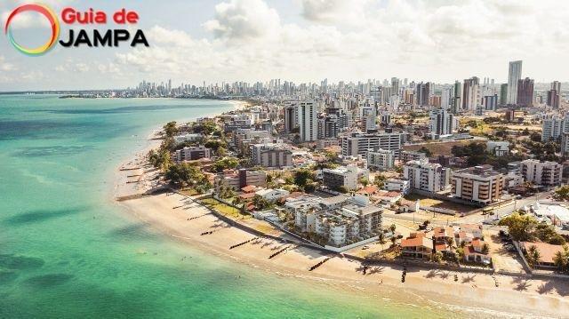 Praia do Bessa João Pessoa - PB - Brasil - Uma ótima praia para turistas!